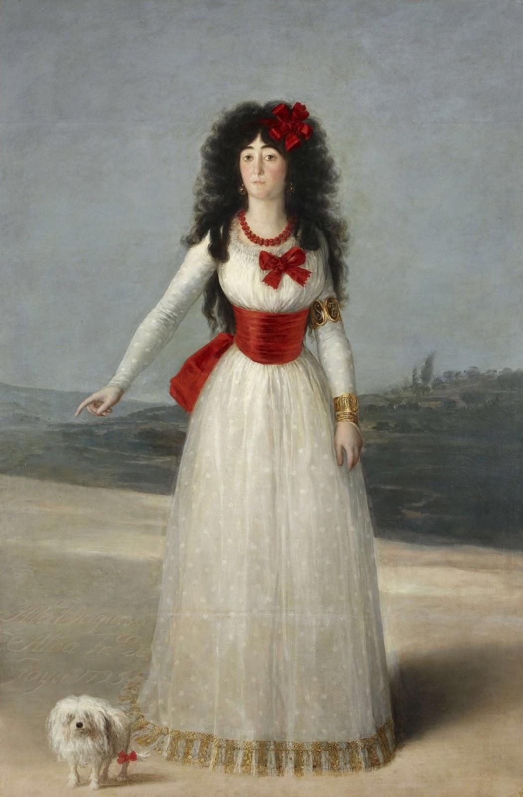 senza dedica: Goya innamorato? I ritratti della Duchessa d ...