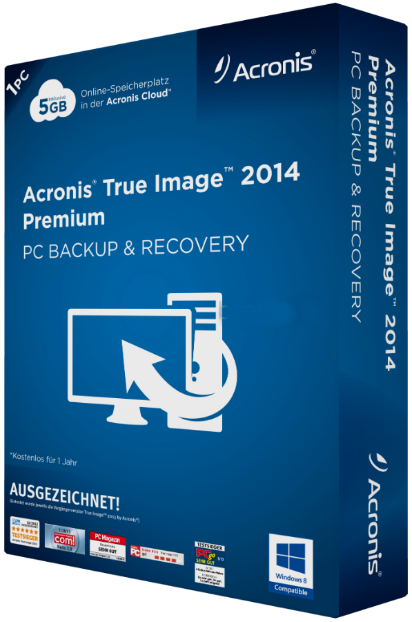 Acronis True Image 2015 v18.0.5539 Bootable Media iSO With Activator Free Download