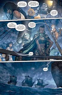 """Comic: Reseña de """"Monstress"""" Vol. 3 de Marjorie Liu y Sana Takeda - Norma Editorial"""