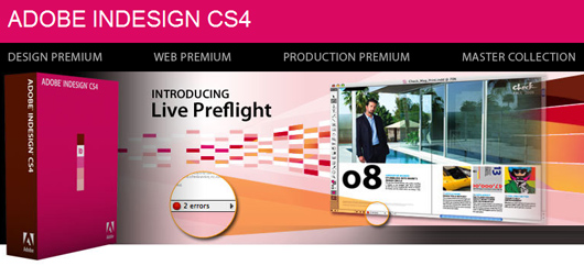 Adobe InDesign CS4 Free Download
