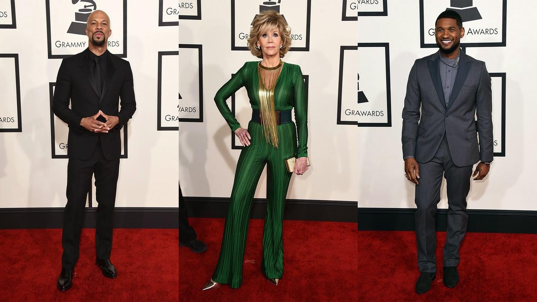 Comum, Jane Fonda, Usher