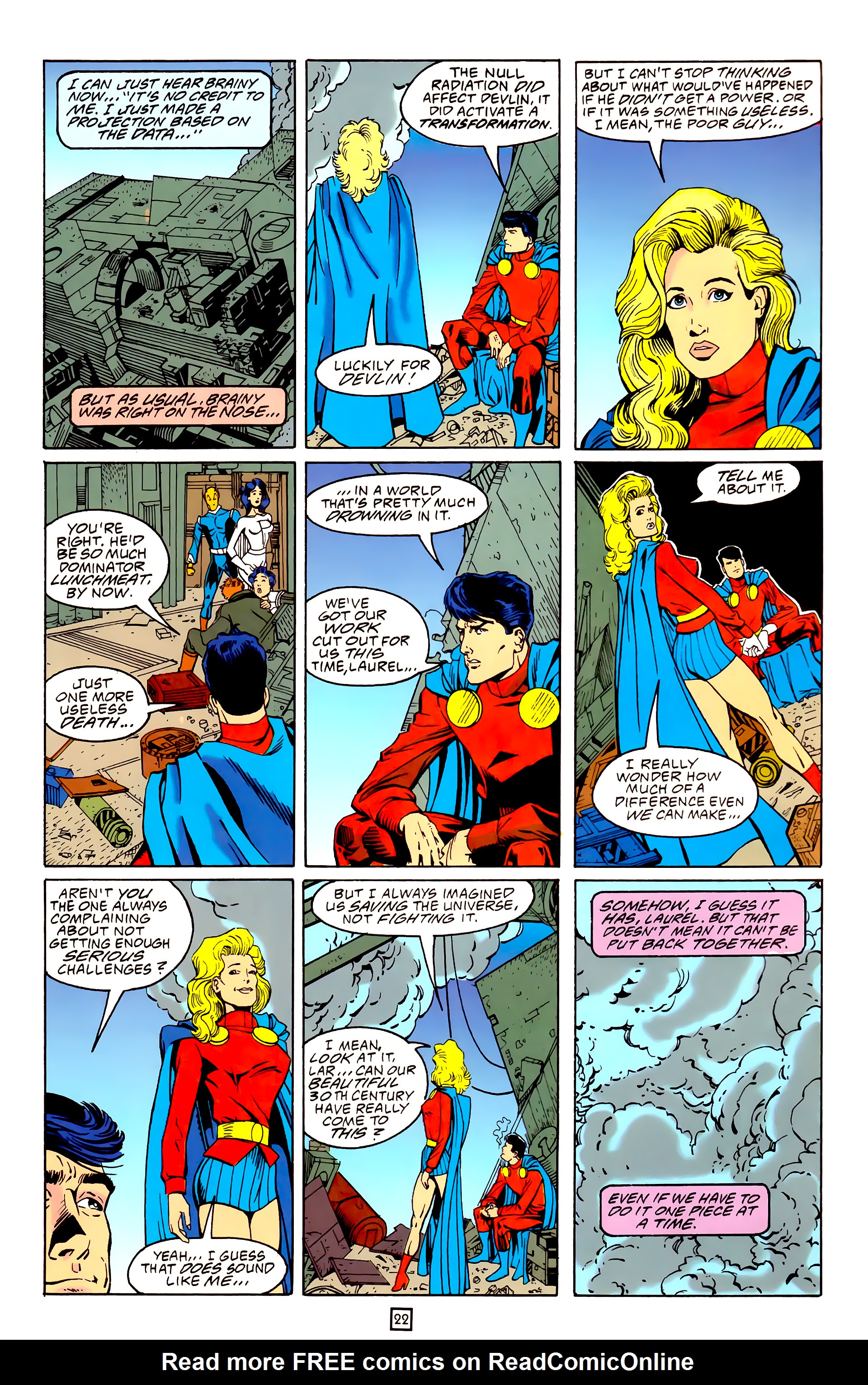 Legion of Super-Heroes (1989) 25 Page 22