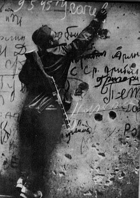 Pintadas en el Reichstag por las tropas soviéticas en 1945
