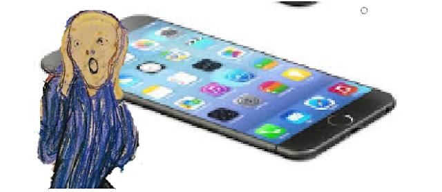 Schermo iphone 4s tutto nero