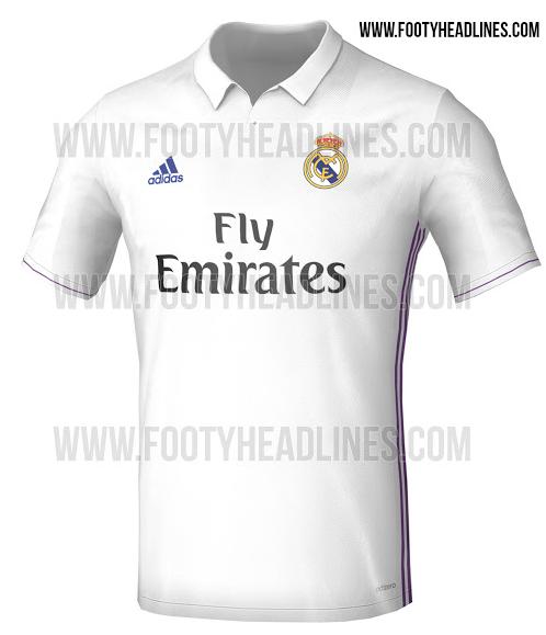 983cc9dd5 Se filtra posible uniforme del Real Madrid 16-17.
