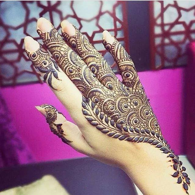 Arabic Henna Designs: Beautiful Latest Simple Arabic Pakistani Indian Bridal
