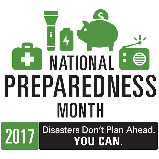 Tips for National Preparedness Month,National Preparedness Month,
