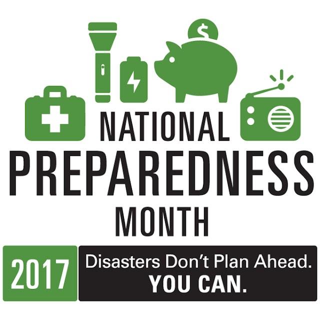 Tips for National Preparedness Month