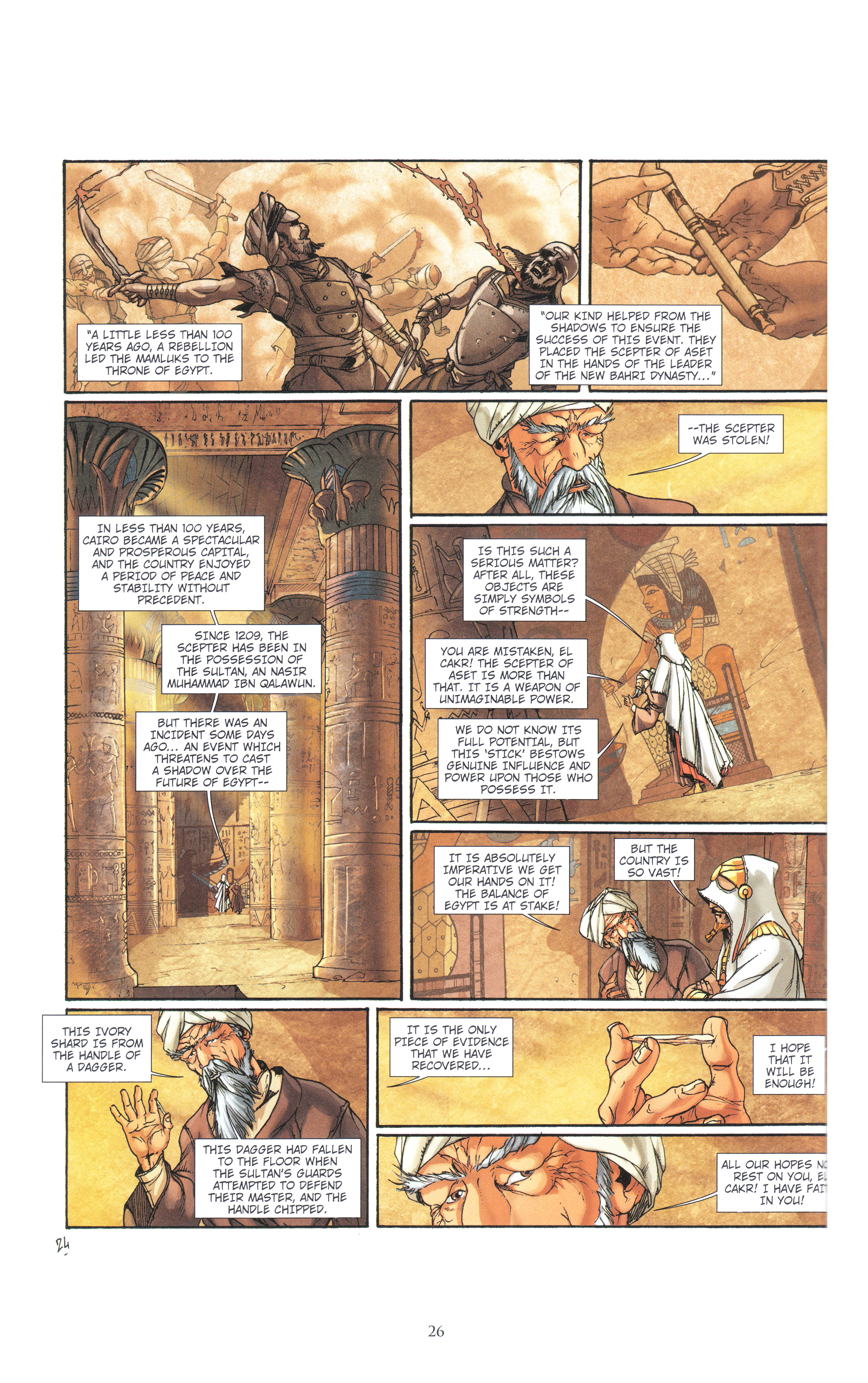 Read online Assassin's Creed (2012) comic -  Issue #4 - 26