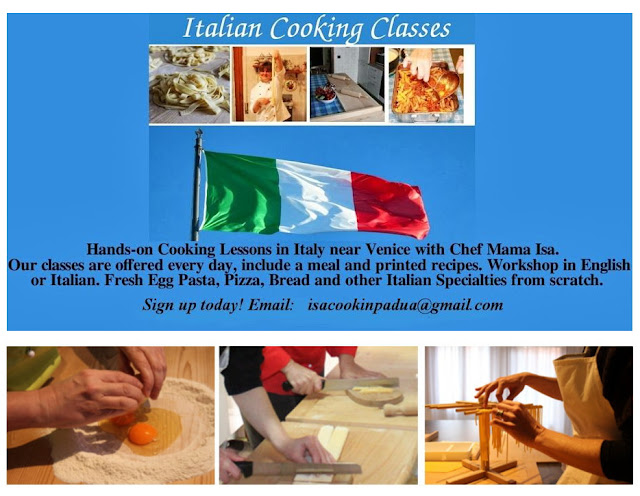 Mama Isa's Cooking School near Venice Italy Padua