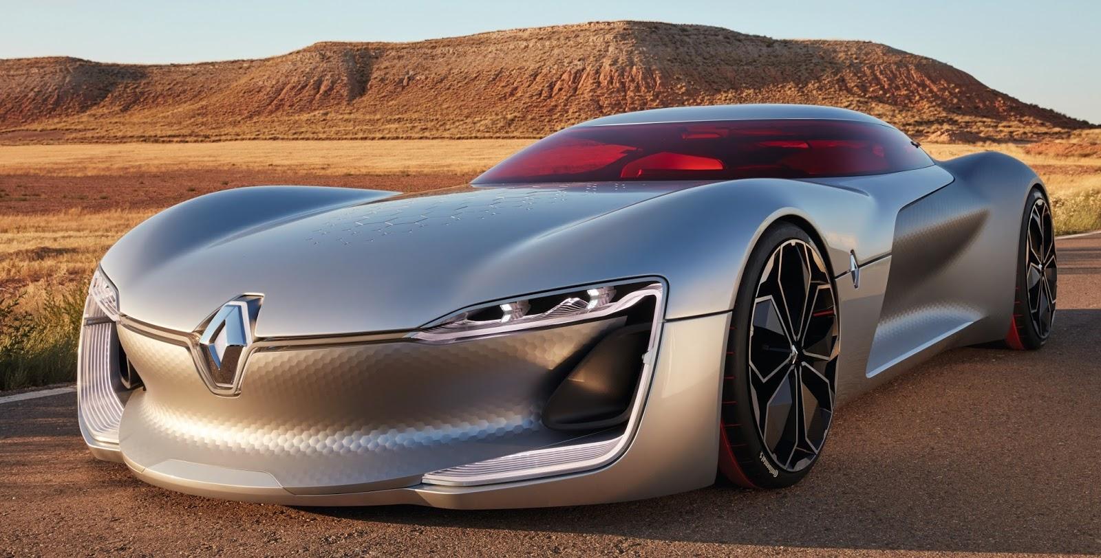 Renault Trezor é eleito carro-conceito mais bonito por júri de design internacional