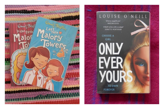 Lovely library books - Love at first stitch - Tilly Walnes, Craft a Creative Business - Fiona Pullen, Malory Towers - Enid Blyton, Only Ever Yours - Louise O'Neill. #bookblogger #lovelibraries