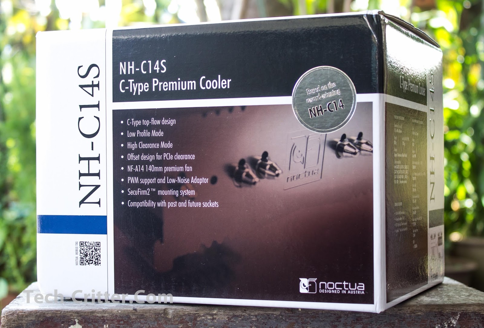 Unboxing & Review: Noctua NH-C14s 1
