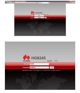 Huawei Hg8245h Password
