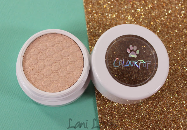 ColourPop Super Shock Shadow - Puppy Love Swatches & Review