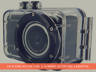 CD-R King Action Cam: A Summer Adventure Essential