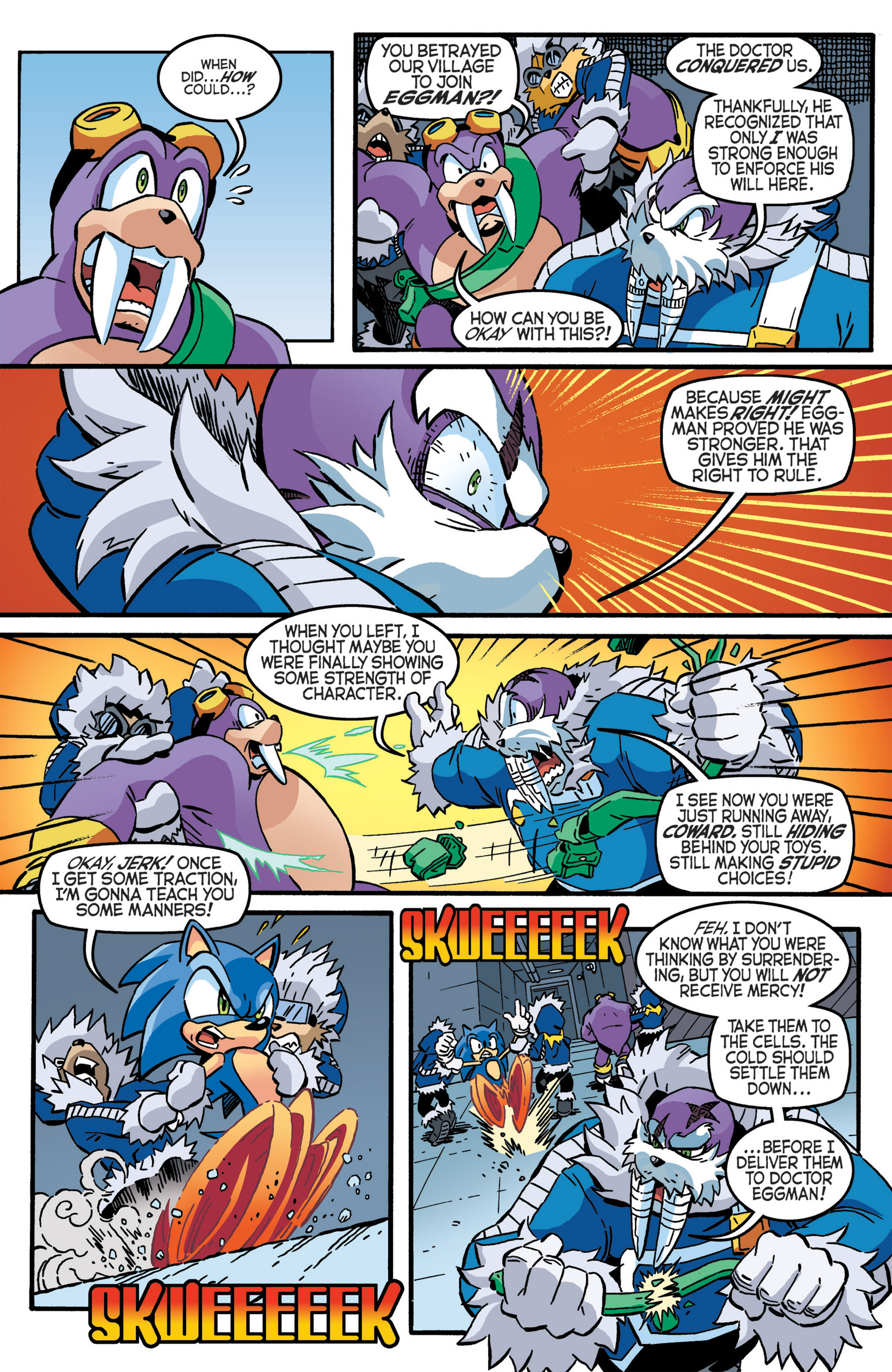 Read online Sonic The Hedgehog comic -  Issue #276 - 6