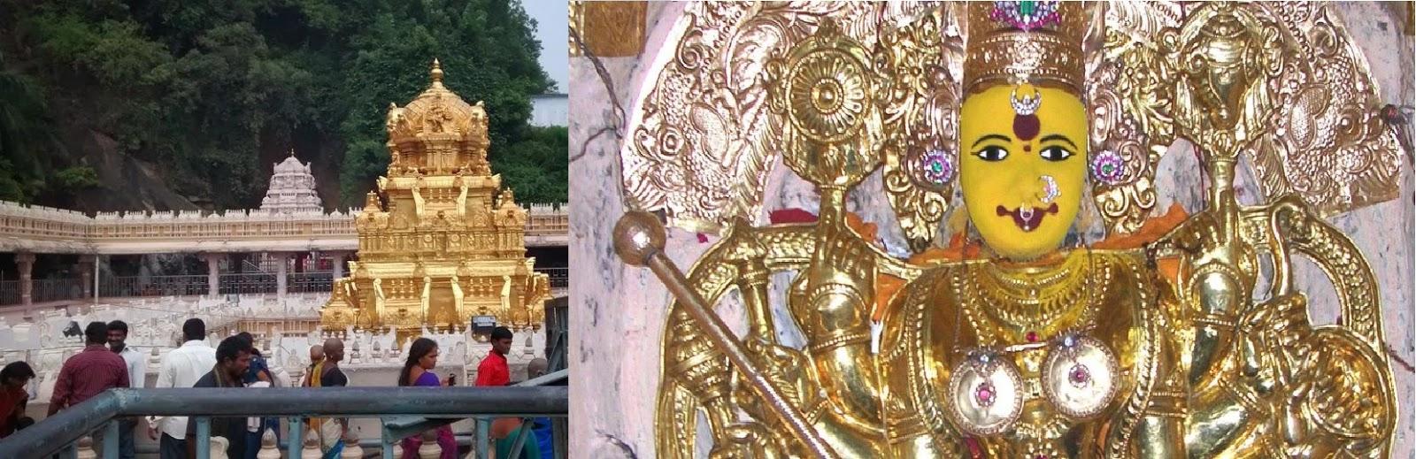 బెజవాడ కనకదుర్గమ్మ ఆలయం - Kanakadurgamma Temple - Vijayawada