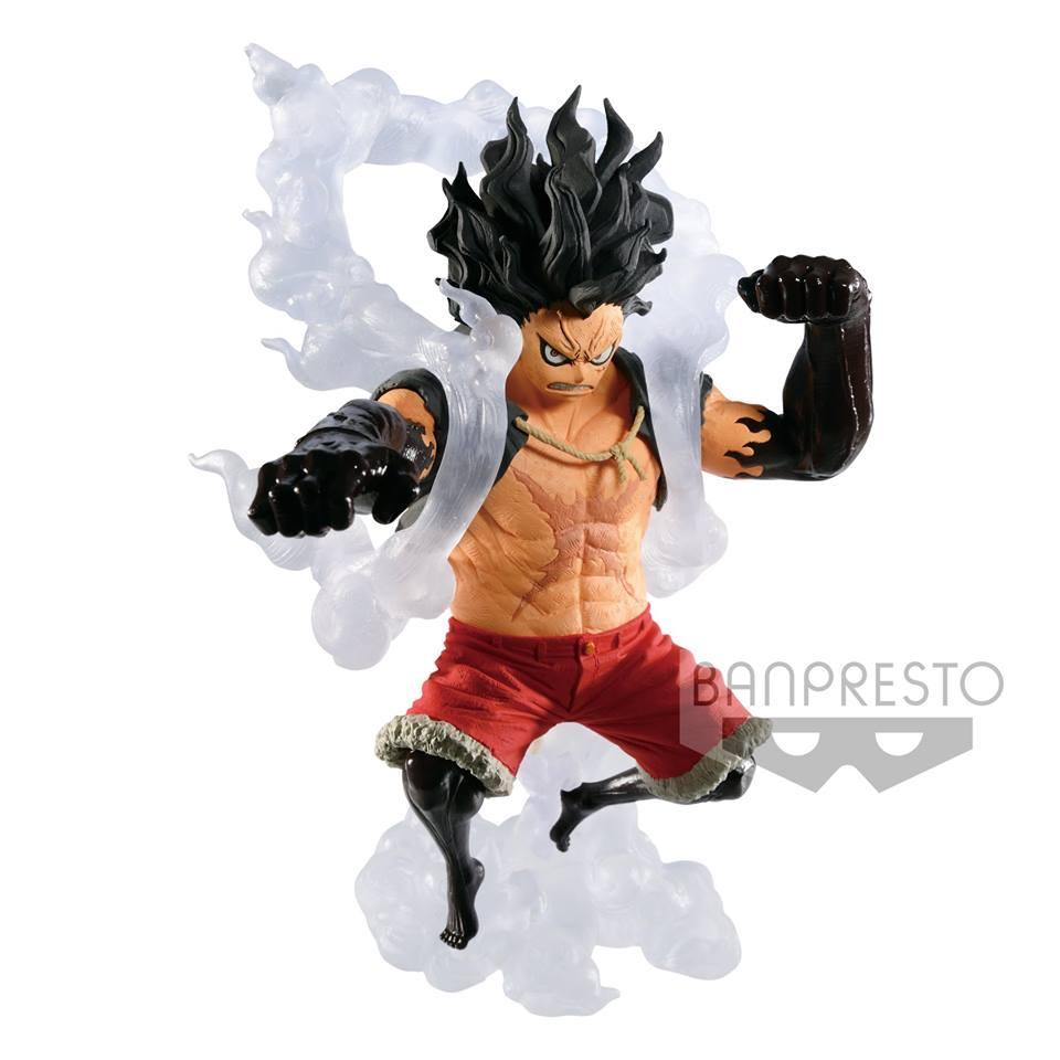 Global freaks, la mejor tienda de figuras anime y manga. One Piece - Monkey D. Luffy Gear Fourth Snakeman King Of ...
