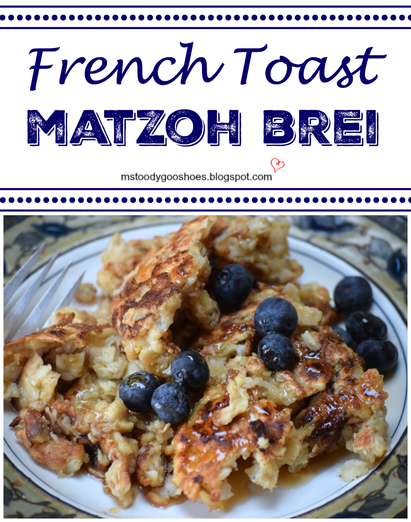 """French Toast"" Matzoh Brei 