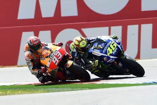 Marquez Nilai Valentino Rossi Sekarang Makin Kuat