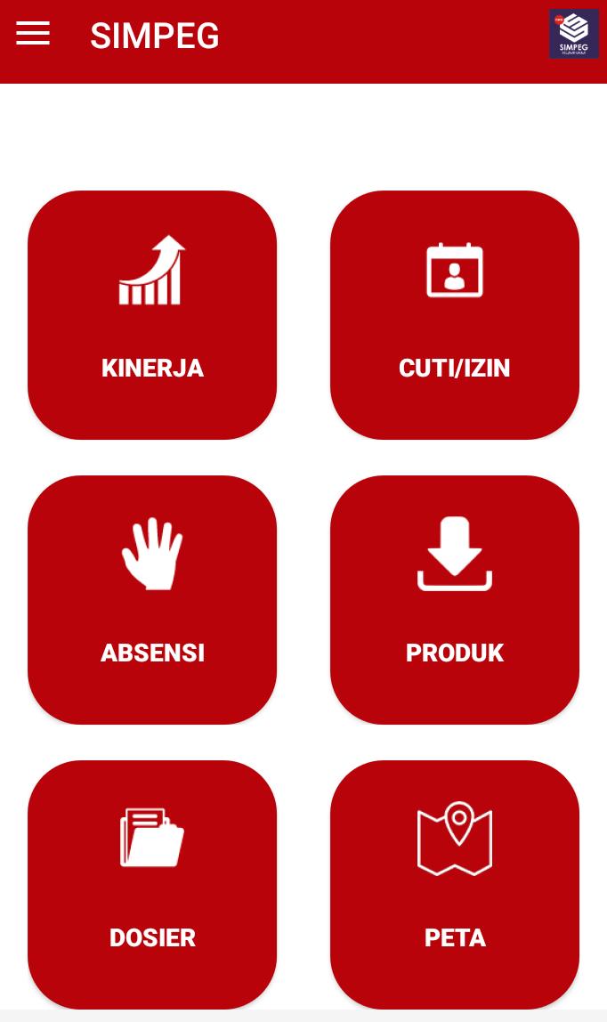 Download Aplikasi SIMPEG New Versi Android - Divisi