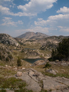 Skull and Fulcrum Lakes, Beartooth Mountains, Montana
