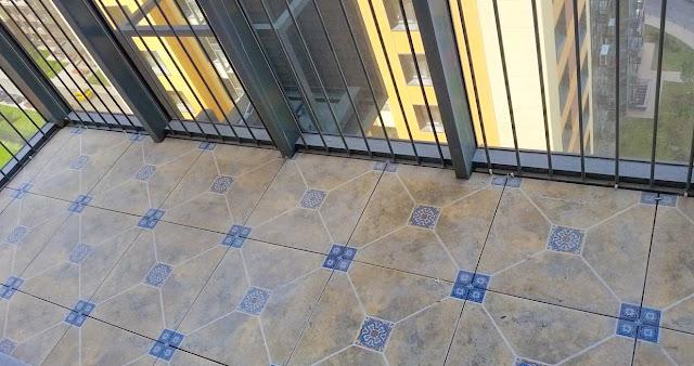 пол для балкона