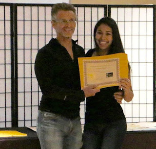 Amanda's Certificate Massage and Bodywork Licensing Exam