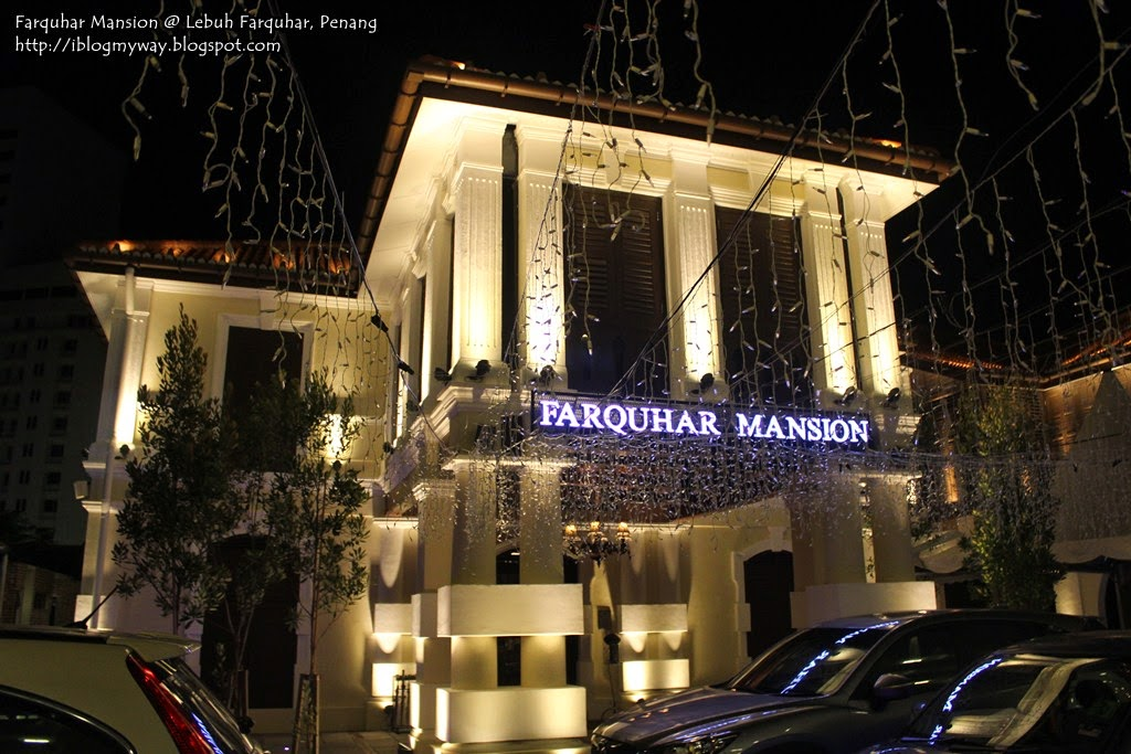 Farquhar Mansion Lounge Fine Dining Penang