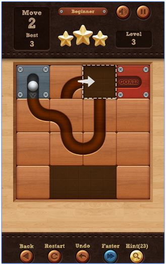 roll the ball slide puzzle apk free