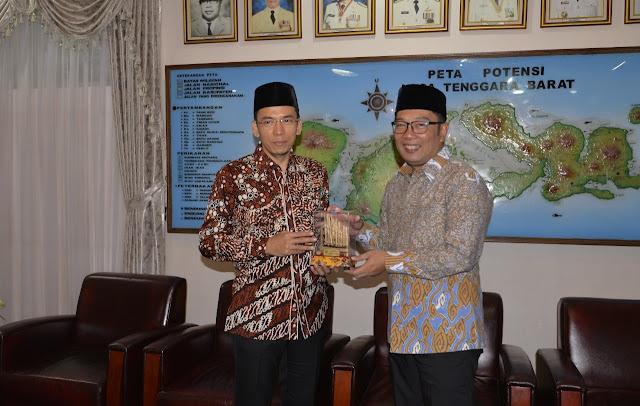 Ridwan Kamil Sebut TGB Layak Pimpin Bangsa