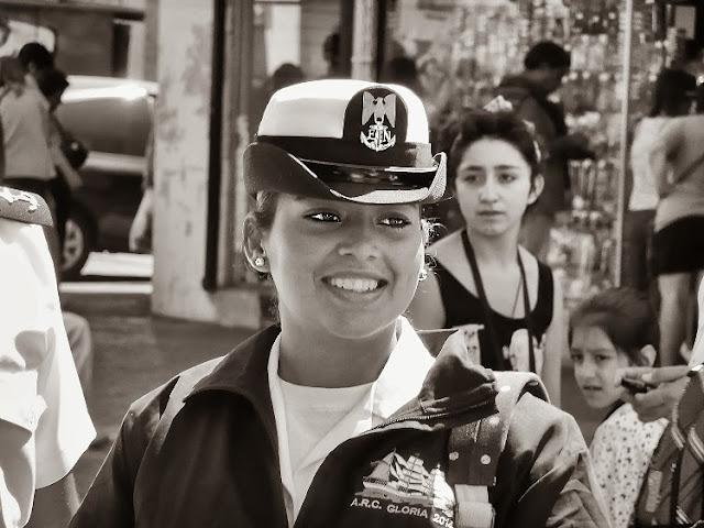 Mujer oficial del A.R.C Gloria