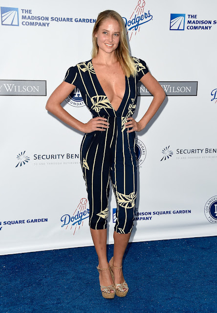 Fashion Model, @ Genevieve Morton - the Los Angeles Dodgers Foundation Blue Diamond Gala