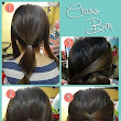 How to make Cross Bun Hairstyle