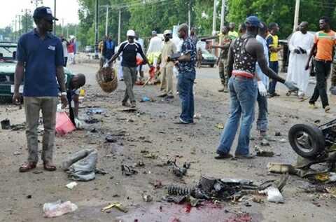 Three Killed as Two Suicide Bombers Attack Maiduguri