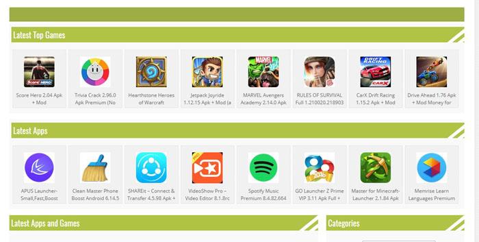 download game apk mod