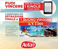 Logo Autan la protezione che ti premia con 16 Kindle Paperwhite e buono viaggio