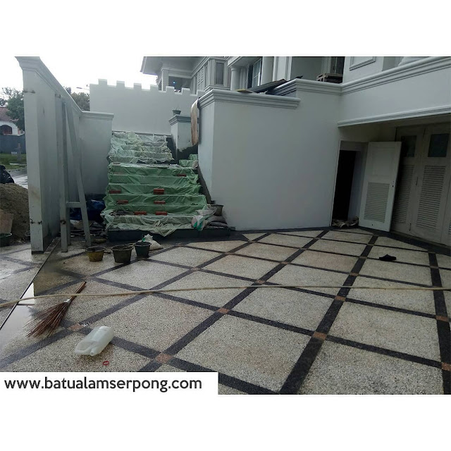Carport variasi koral sikat (before after)
