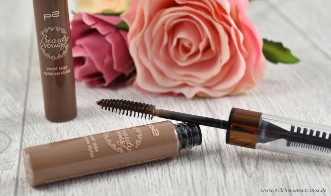 p2 cosmetics - Beauty VOYAGE Limited Edition - sweet saga eyebrow stylist