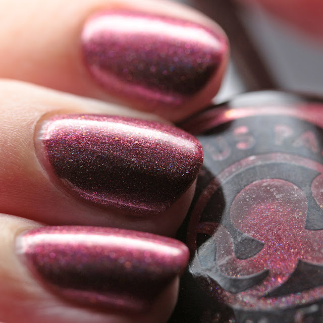 Octopus Party Nail Lacquer Cranberry Boss