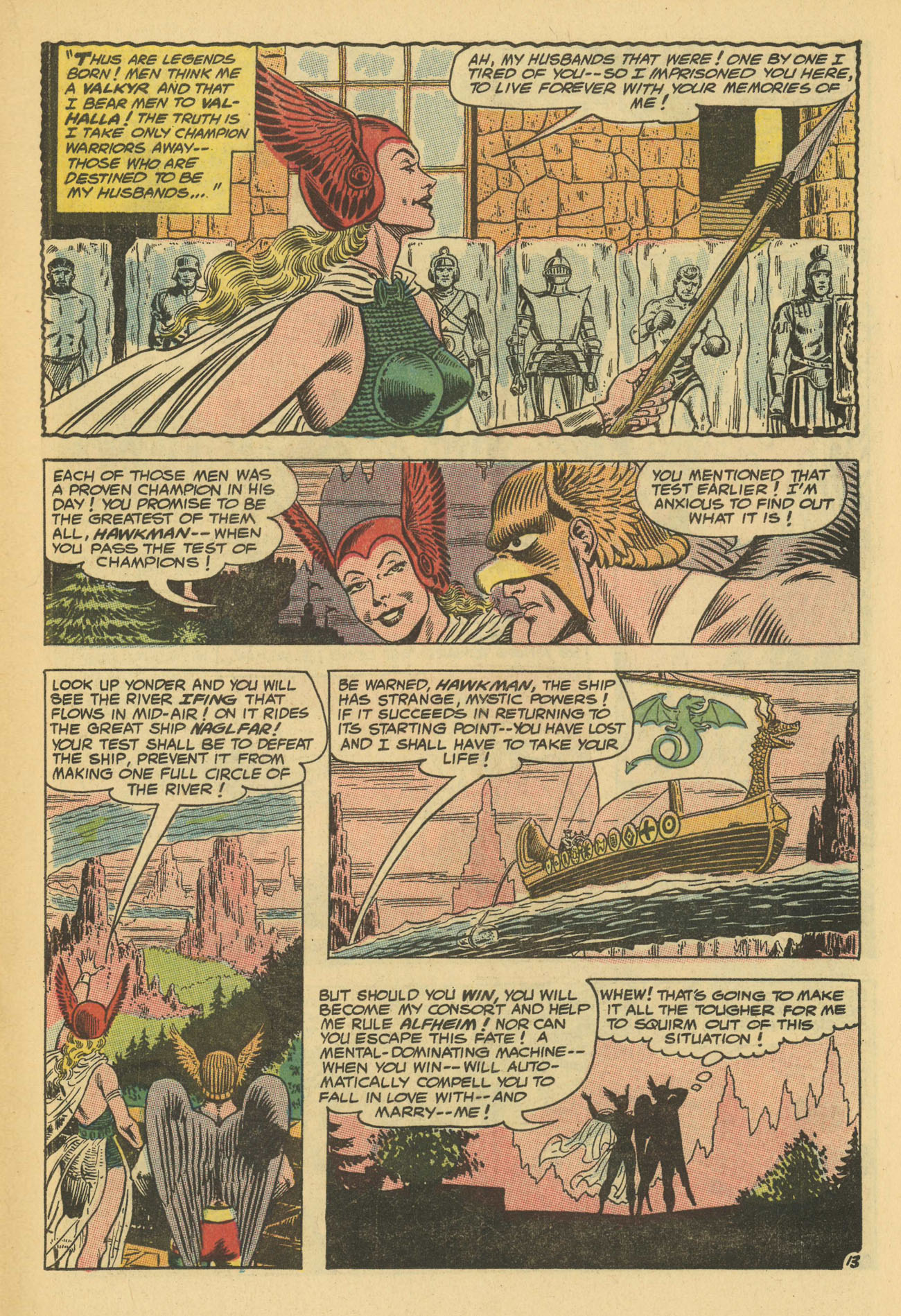 Hawkman (1964) issue 13 - Page 19