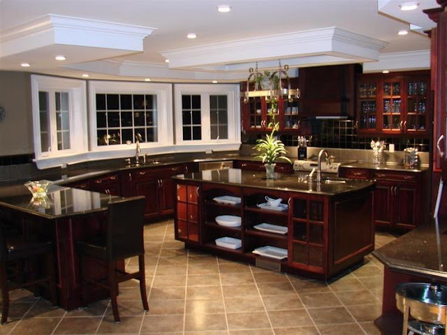 Kitchen Color Schemes With Cherry Cabinets Home Interior