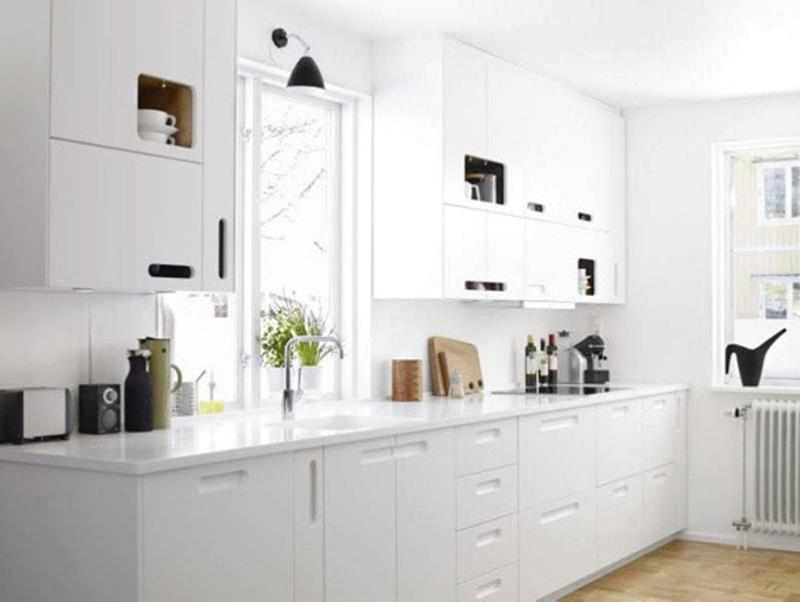 15 Sleek and Serene All White Kitchen Design Ideas To Inspire