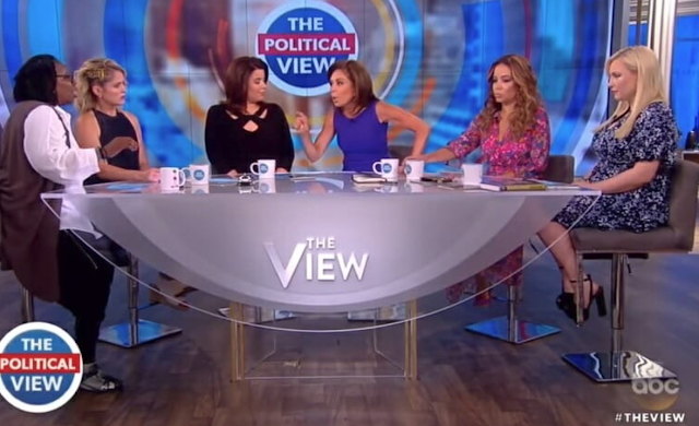 """Get the F*ck Out of Here!"" Whoopi Goldberg Screams at Judge Jeanine Pirro Off Camera After Heated Exchange"