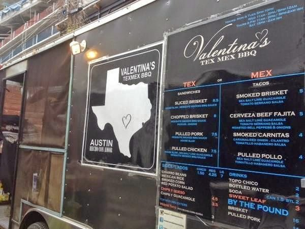 Valentina's Trailer promises Tex Mex BBQ made with Love