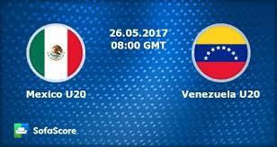 México U20 vs Venezuela U20 en Mundial de Fútbol Sub 20 Corea del Sur 2017