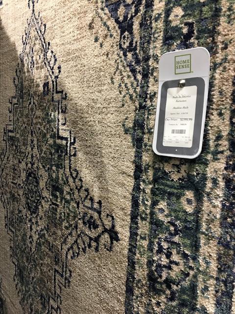 Karastan rug in Homesense store