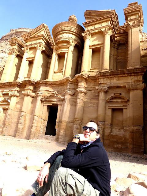 Imagen de las Tumbas Reales en Petra