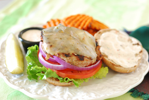 mesquite grilled turkey burgers, turkey burger, lo-cal burger,